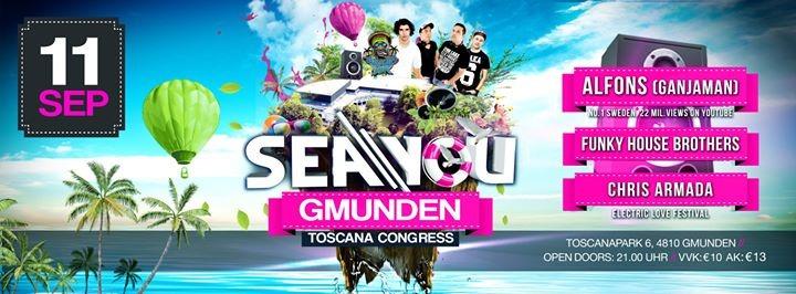 SeaYou Gmunden - 11.09.2015 - Toskana Congress Gmunden