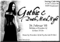 Gothic & Metal Night