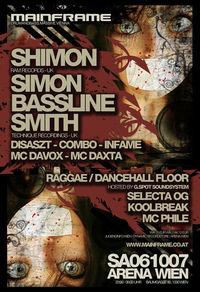 """Mainframe - Simon """"Bassline"""" Smith & Shimon"""