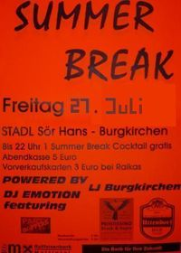 Summer Break Party