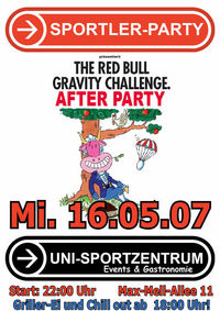 RedBull Gravity ChallengeAfterParty