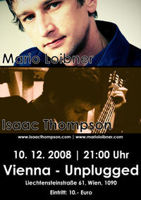 Mario Loibner & Isaac Thompson - Songwriternacht