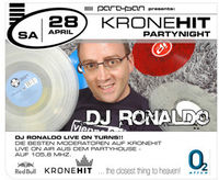 Kronehit Partynight with DJ Ronaldo
