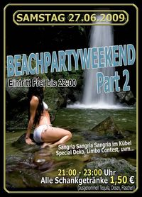 Beachpartyweekend Part 2