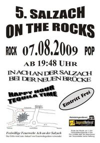 Salzach on the Rocks