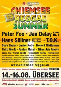 Chiemsee Reggae Summer 09 - Artists