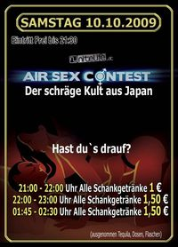 Air Sex Contest