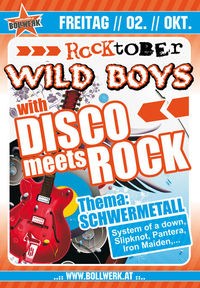 Wild Boys Disco meets Rock