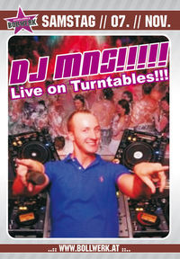 DJ MNS Live on Turntables