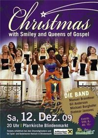 Christmas with Smiley and Queens of Gospel