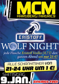 Eristoff Wolf Night!