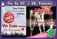 free friday | Aktion feier dich reich