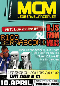 Rico Bernasconi & DJs from Mars