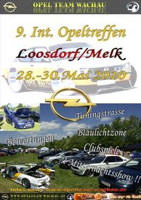 9.internationales Opeltreffen Opel Team Wachau