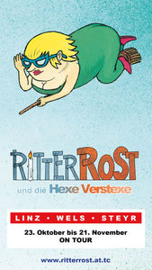 Ritter Rost und die Hexe Verstexe on Tour!