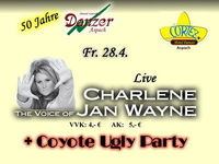 Charlene the Voice of Jan Wayne