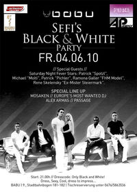 Sefi´s Black & White Party