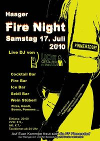 Haager Fire Night