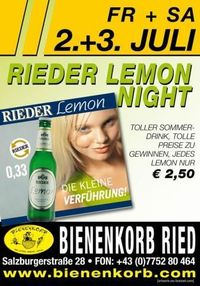 Rieder Lemon Night