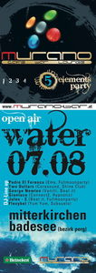 5 Elements Party Water Open Air