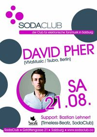 SodaClub pres. David Pher (VIVaMusic/Tsuba,Berlin)