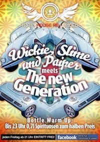Wickie, Slime & Paiper meets The New Generation