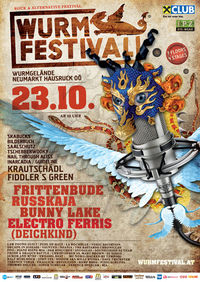 Wurmfestival - indoor rock & alternative festival