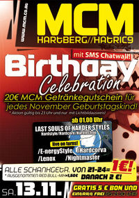 Birthday Celebration mit SMS Chatwall!