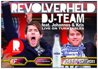 Revolverheld Dj Team live on Turntables