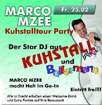 Marco Mzee - Kuhstalltour Party