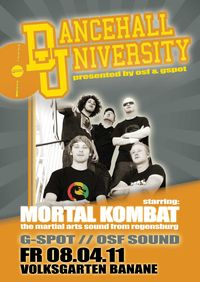 Dancehall Universitty starring Mortal Kombat