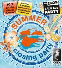 Sauf Aus Party