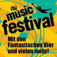DSJ Musicfestival mit den Fantastischen Vier, Clueso & Band, Andreas Bourani, Max