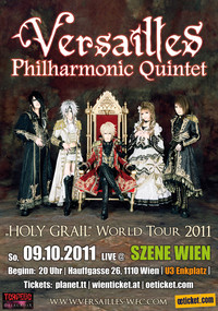 Versailles World Tour 2011 -Holy Grail- Europe