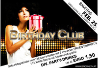 Birthday Club mit DJ Lipps 