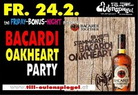 Bacardi Oakheard Party