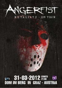 Angerfist presents: Retaliate World Tour!