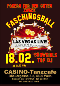 Faschingsball - Las Vegas live