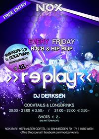 >> replay