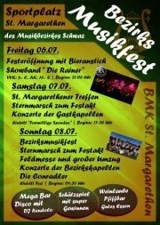 Bezirksmusikfest St. Margarethen@Sportplatz