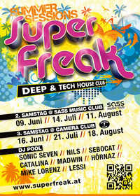 Superfreak! Summer Sessions@Camera Club