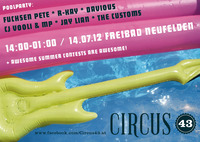 Circus 43 - Poolparty Neufelden