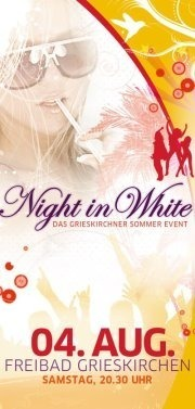 Night in White@Freibad Grieskirchen