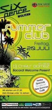 Bacardi Summer Club