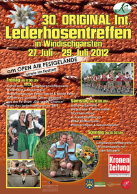 30. Internationales Lederhosentreffen@Ortszentrum Windischgarsten