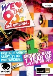 1 Year of  We Love The 90s - Das Original