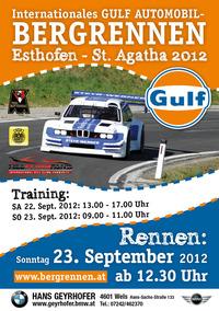 Internationales Auto-Bergrennen von Esthofen nach St. Agatha