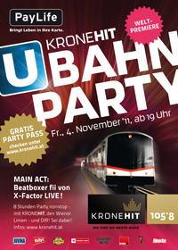 KroneHit U-Bahn Party