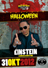 Viennese Vibez - Halloween Special  starring: Einstein (jam) Live On Stage