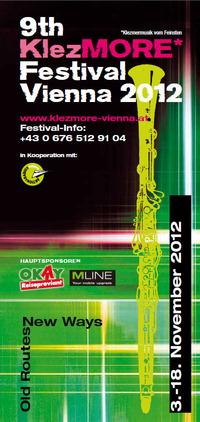9. KlezMORE Festival Vienna 2012